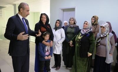 Akçakale'de üreten kadınlara destek - VİDEOLU-