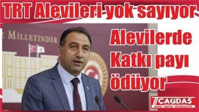 Alevilerden katkı payı alma TRT