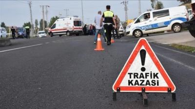 Aligör'de kaza 7 yaralı