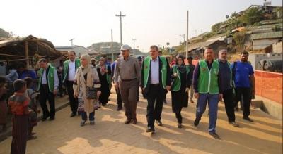 Bangladeş'te Şanlıurfa Mahallesinin Açılışı Gerçekleştirildi