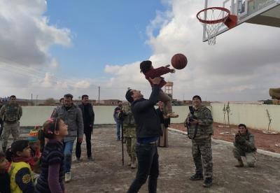 Barış Pınarı Harekâtıyla Çocukların Yüzü Güldü