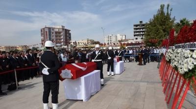 Barış Pınarı Harekâtının İlk Sivil Şehitleri Uğurlandı