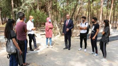 Başarılı Öğrencilerden Başkan Yalçınkaya'ya Teşekkür Ziyareti