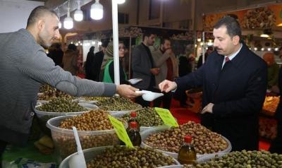 Başkan Baydilli'den Yöresel Ürünler Fuarına Ziyaret