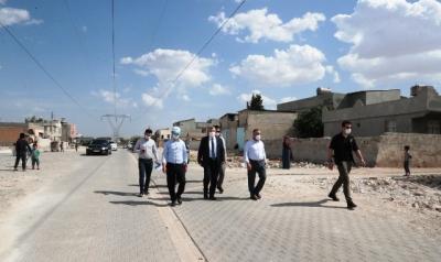 Başkan Beyazgül Eyyübiye'deki Çalışmaları Yerinde İnceledi