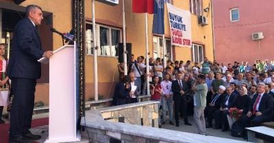 Başkan Beyazgül Makedonyalıları Şanlıurfa'ya davet etti