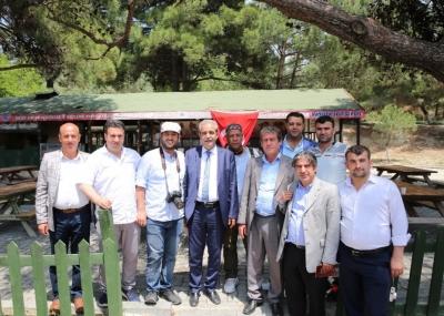 Başkan Demirkol, Çanakkale ruhunu yaşatmayı sürdürüyor -VİDEOLU-