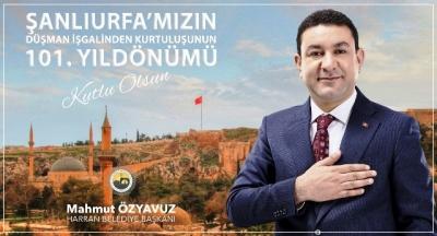 """Başkan Özyavuz: """"Şanlı kentimizin tarihi şan ve şeref dolu"""""""