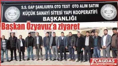 Başkan Özyavuz'a nezaket ziyareti