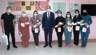 Başkan Yalçınkaya'dan 'Ebeler Günü' Ziyareti