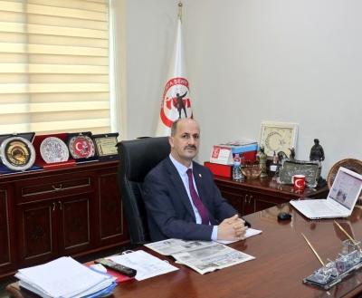 Başkan Yavuz'dan 24 Kasım Mesajı