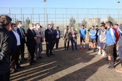 Başkanlardan, Şanlıurfaspor'a Moral Ziyaret