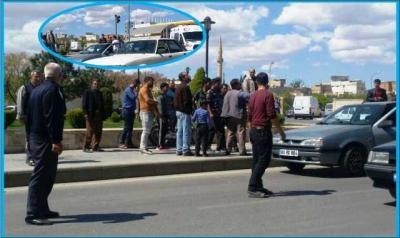 Beykapısı'nda trafik kazası:1 yaralı