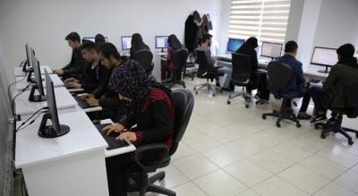 Bilgisayar kursuna yoğun ilgi