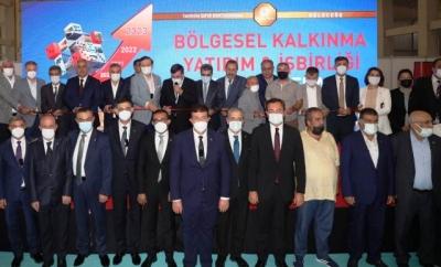 Bölgesel Kalkınma, Yatırım İşbirliği Forum ve Fuarı Şanlıurfa'da Kapılarını Açtı