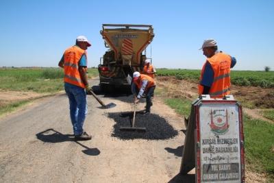 Büyükşehir, kırsal yollarda çalışmalarını arttırdı