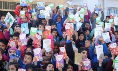 Büyükşehir, Suruçlu gençlerin kitap sevincine ortak oldu