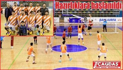 Büyükşehir voleybol takımı, yeni sezon hazırlıklarına başladı