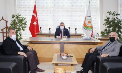 CHP İl Başkanlığı'ndan Başkan Beyazgül'e ziyaret
