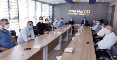 CHP Şanlıurfa Heyetinden DEVA Partisine Ziyaret