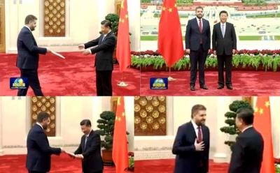 Çin Büyükelçisi Önen, Güven Mektubunu sundu