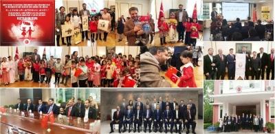 Çin'de Urfa rüzgârı ve Çocuk Bayramı