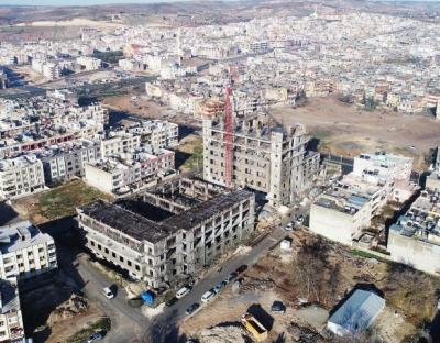 Çocuk ve kadın yaşam merkezi inşaatı hızla yükseliyor