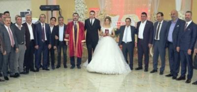 Cumhur İttifakı bu düğünde buluştu