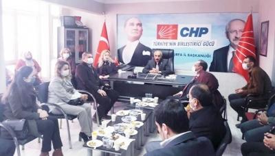 DEVA Partisi'nden CHP Şanlıurfa İl Başkanlığına Ziyaret