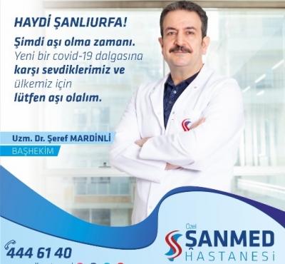 Dr. Mardinli'den aşı olmaya davet