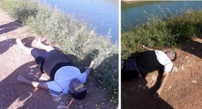 DSİ Kanalında erkek cesedi bulundu