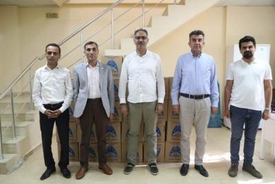 Eyyübiye Belediyesi çölyak hastalarının yanında olmaya devam ediyor.