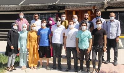 Eyyübiye Belediyesi ile öğrenciler üniversiteli oldu.