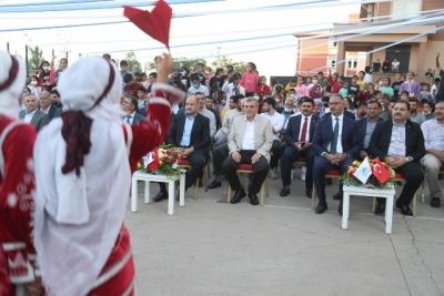 Eyyübiye'de toplu açılış töreni