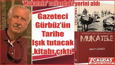 Gazeteci Gürbüz'ün 3'ncü kitabı raflarda