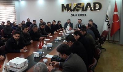 Gelecek Parti'den MÜSİAD'a ziyaret