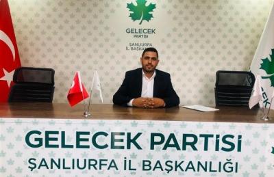 Gelecek Partisi Ceylanpınar ilçe başkanı belli oldu