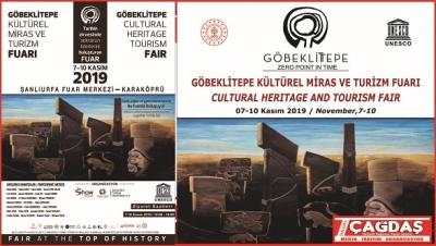Göbeklitepe Kültür turizmve sanat fuarı Şanlıurfa'da