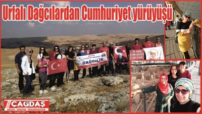 Göbeklitepe'ye Cumhuriyet Yürüyüşü