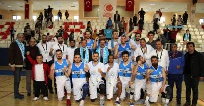 Haliliye basketbol takımı, play-off'da avantajı yakaladı