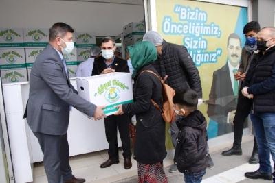 Haliliye Belediyesi Çölyaklıların Gönüllerine Dokunuyor