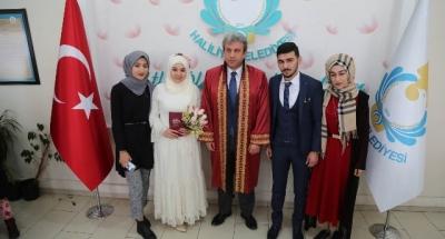Haliliye'de 14 Şubat'ta 49 nikah kıyıldı