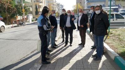 Haliliye'de Başkan Yardımcıları Sahada