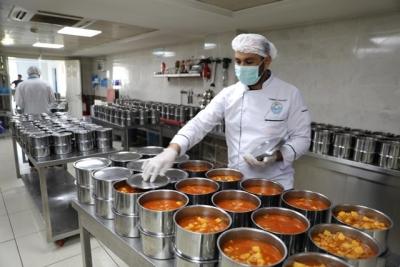 Haliliye'de İhtiyacı Olan Her Eve Sıcak Yemek