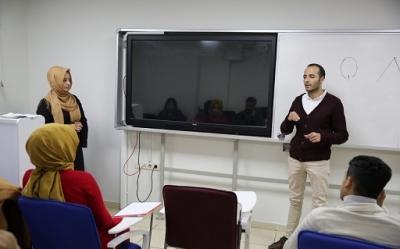 Haliliye'de işaret dili eğitimi sürüyor -VİDEOLU-