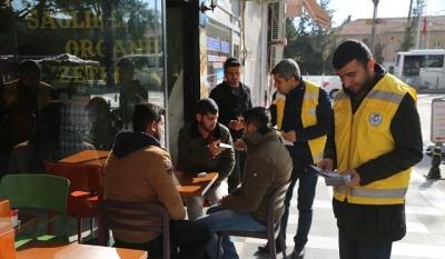 Haliliye'de sigara uyarısı