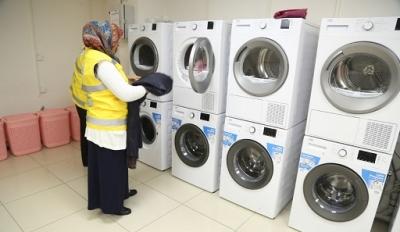 Haliliye'de ücretsiz çamaşırhane