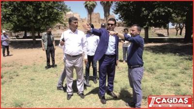 Harran'da araç parkı ve yeni çarşı inşa edilecek