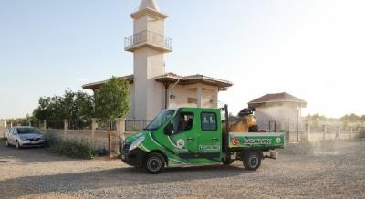 Harran'da Sorunsuz Bir Yaz İçin Ilaçlama Çalişmaları Başladı