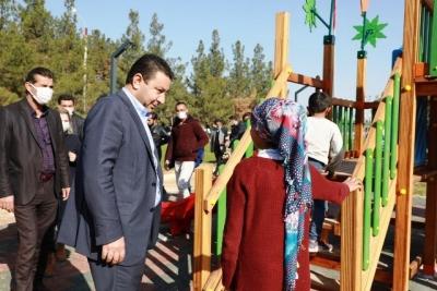 Harran'da Yeni Parklar Göz Dolduruyor